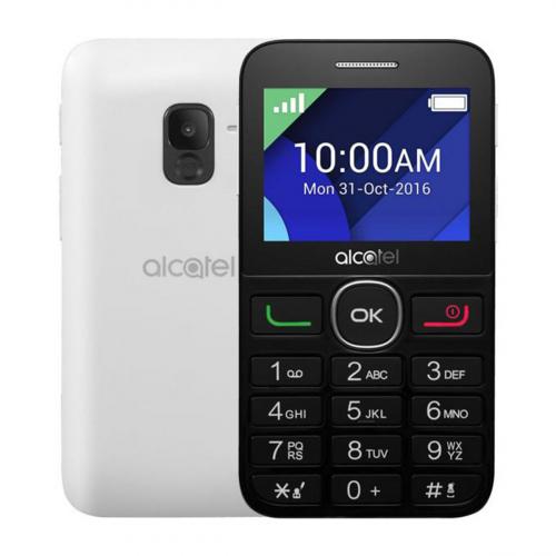 Alcatel 2008G (Fekete-Fehér) Gyártói Garancia