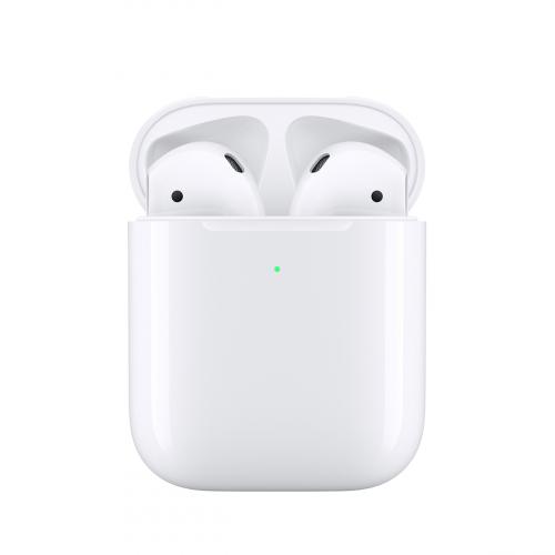 Apple AirPods (2019) Vezeték Nélküli Töltőtokkal (MRXJ2ZM/A) Apple Garancia