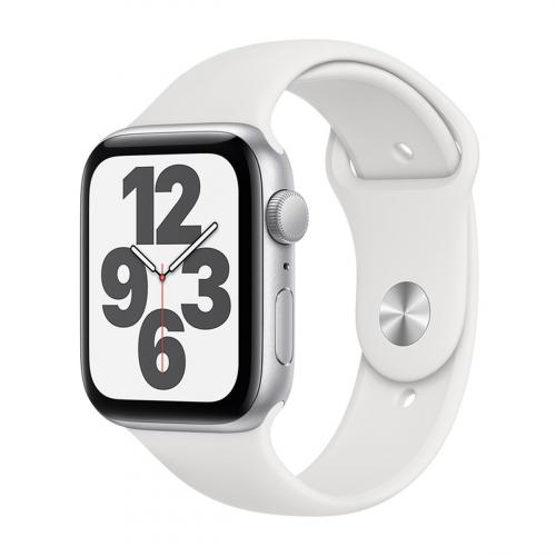Apple Watch SE 44mm Sport (Ezüst-Fehér) Apple Garancia