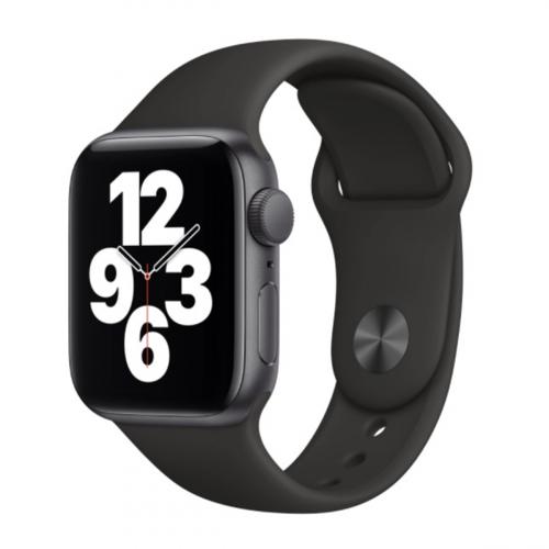 Apple Watch SE 44mm Sport (Szürke-Fekete)