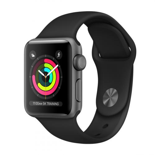 Apple Watch Series 3 38mm (Szürke-Fekete)