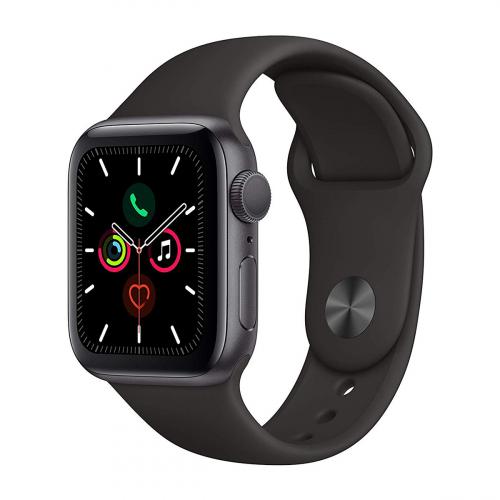 Apple Watch Series 5 40mm Sport (Szürke-Fekete)