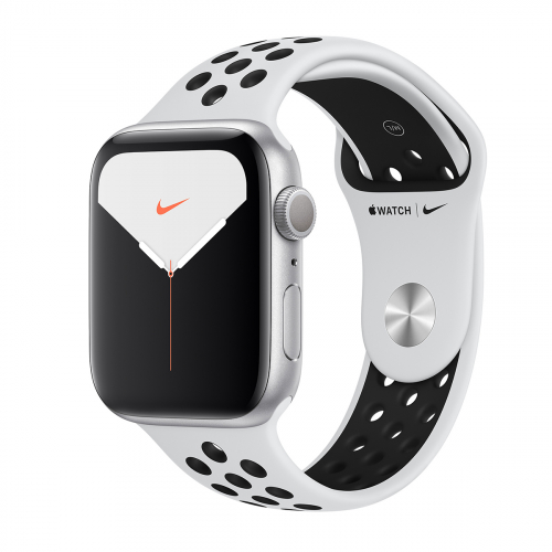 Apple Watch Series 5 44mm Nike Sport (Ezüst-Fekete) Apple Garancia
