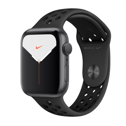 Apple Watch Series 5 44mm Nike Sport (Szürke-Antracit Fekete) Apple Garancia