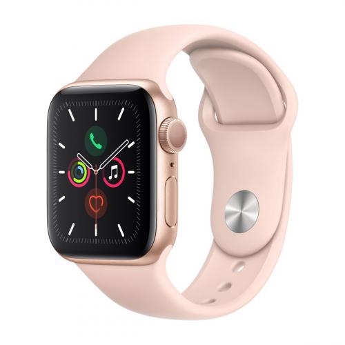 Apple Watch Series 5 44mm Sport (Arany-Rózsakvarc) Apple Garancia
