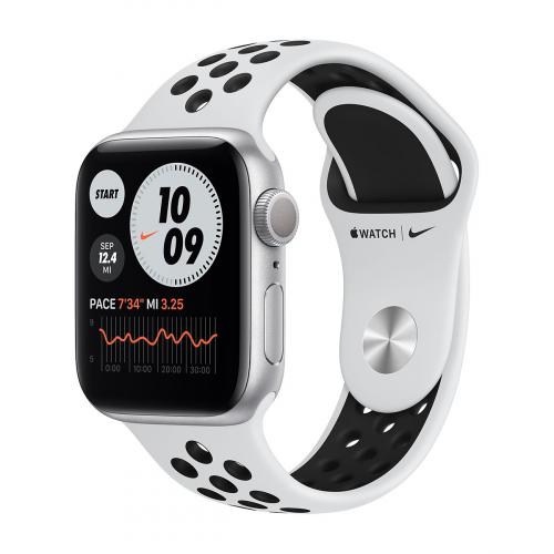Apple Watch Series 6 40mm Nike Sport (Ezüst-Fekete) Apple Garancia