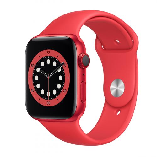Apple Watch Series 6 44mm Cellular Sport (Piros-Piros) Apple Garancia