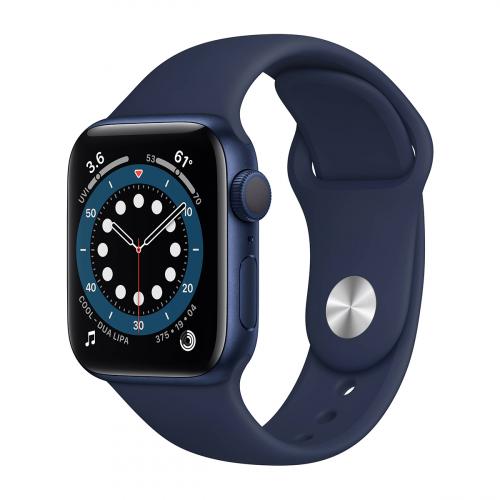 Apple Watch Series 6 44mm Sport (Kék-Kék)