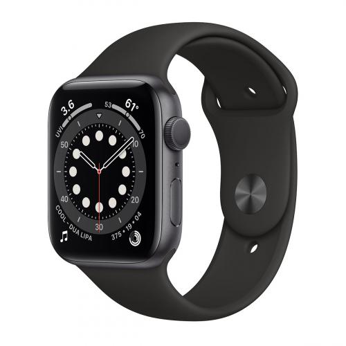 Apple Watch Series 6 44mm Sport (Szürke-Fekete)