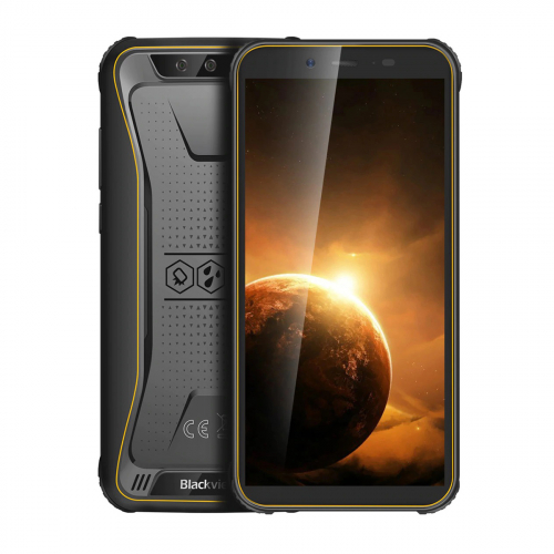 Blackview BV5500 Plus Dual-SIM 32GB 3GB RAM (Citromsárga)