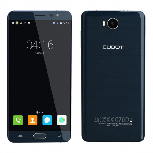 Cubot Cheetah 2 Dual-SIM 32GB 3GB RAM (Kék)