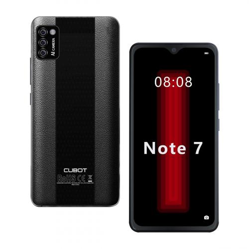 Cubot Note 7 Dual-SIM 16GB 2GB RAM (Fekete)
