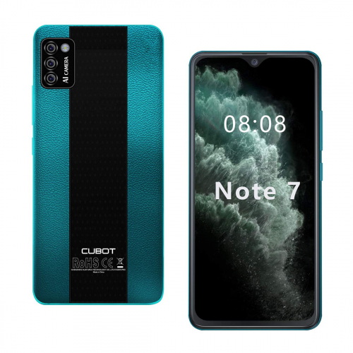 Cubot Note 7 Dual-SIM 16GB 2GB RAM (Zöld)