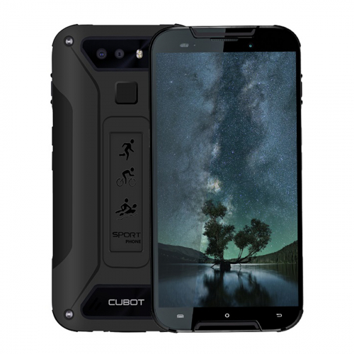 Cubot Quest Lite Dual-SIM 32GB 3GB RAM (Fekete)