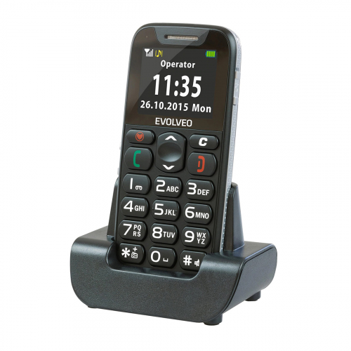 Evolveo Easyphone EP-500 (Fekete)