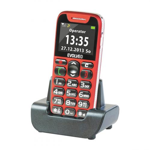 Evolveo Easyphone EP-500 (Piros)