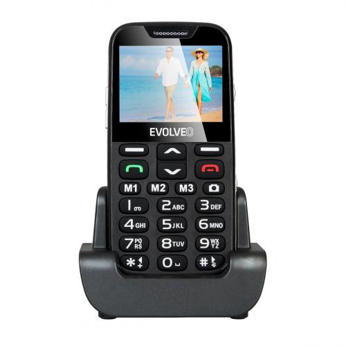 Evolveo Easyphone EP-600 (Fekete)