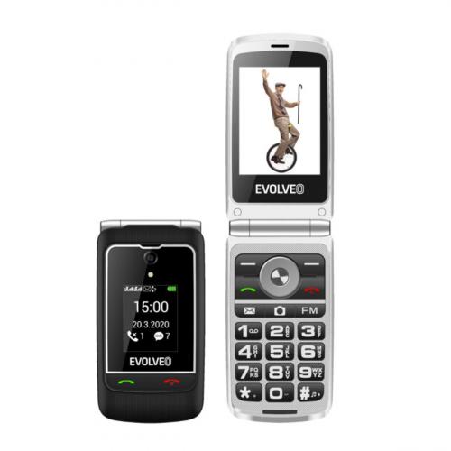 Evolveo Easyphone EP-750 Dual-SIM (Fekete)