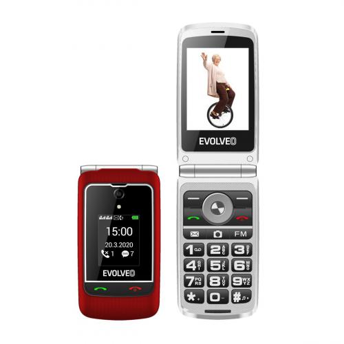 Evolveo Easyphone EP-750 Dual-SIM (Piros)