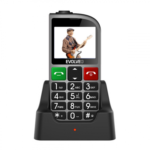 Evolveo Easyphone EP-800 Dual-SIM (Ezüst)