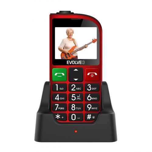 Evolveo Easyphone EP-800 Dual-SIM (Piros)