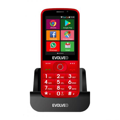 Evolveo Easyphone EP-900 Dual-SIM (Piros)