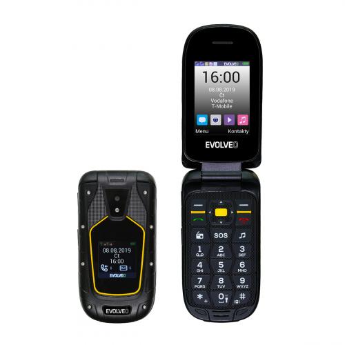 Evolveo Strongphone SGP-F5 Dual-SIM (Fekete-Citromsárga)