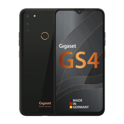 Gigaset GS4 Dual-SIM 64GB 4GB RAM (Fekete) Gyártói Garancia