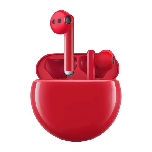 Huawei FreeBuds 3 (Piros)