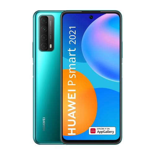 Huawei P Smart (2021) Dual-SIM 128GB 4GB RAM (Zöld)