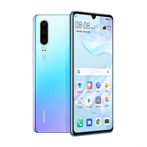 Huawei P30 Dual-SIM 128GB 6GB RAM (Világoskék-Lila Átmenetes)