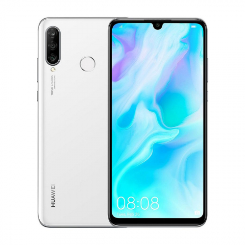Huawei P30 Lite Dual-SIM 128GB 4GB RAM (Fehér)