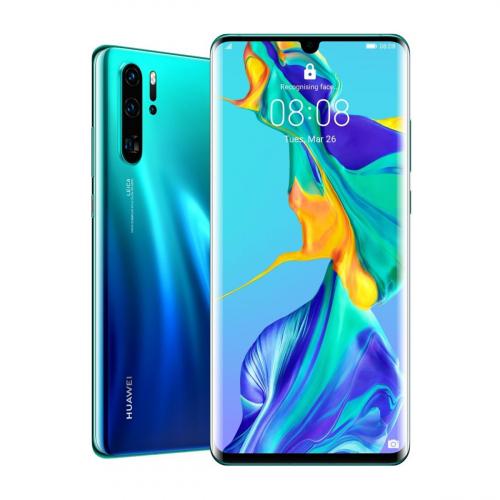 Huawei P30 Pro Dual-SIM 512GB 8GB RAM (Kék-Zöld Átmenetes)