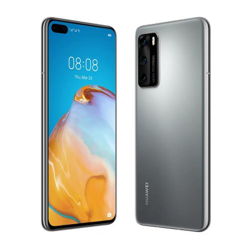 Huawei P40 5G Dual-SIM 128GB 8GB RAM (Ezüst)