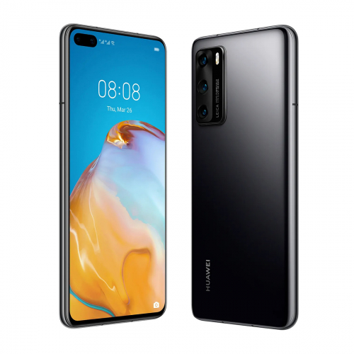 Huawei P40 5G Dual-SIM 128GB 8GB RAM (Fekete)