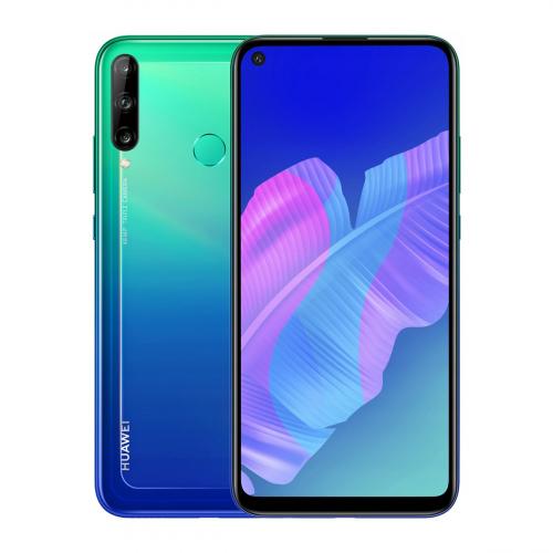 Huawei P40 Lite E Dual-SIM 64GB 4GB RAM (Kék)