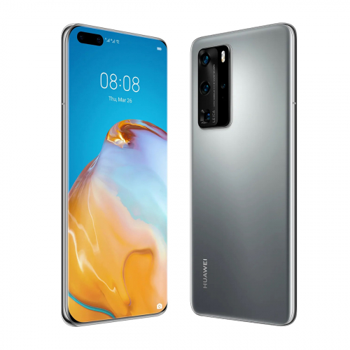 Huawei P40 Pro 5G Dual-SIM 256GB 8GB RAM (Ezüst)