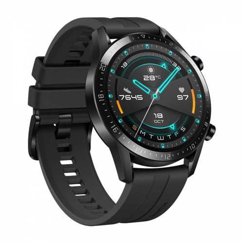 Huawei Watch GT2 46mm Sport (Fekete) Gyártói Garancia