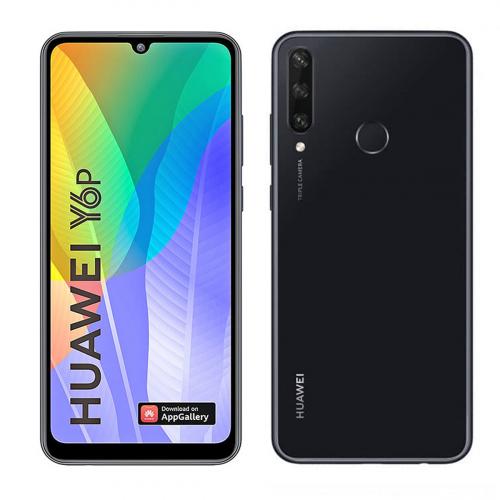 Huawei Y6p (2020) Dual-SIM 64GB 3GB RAM (Fekete)