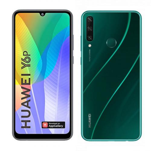 Huawei Y6p (2020) Dual-SIM 64GB 3GB RAM (Zöld)