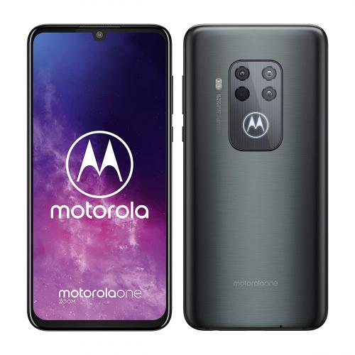 Motorola XT2010-1 Moto One Zoom Dual-SIM 128GB 4GB RAM (Szürke)