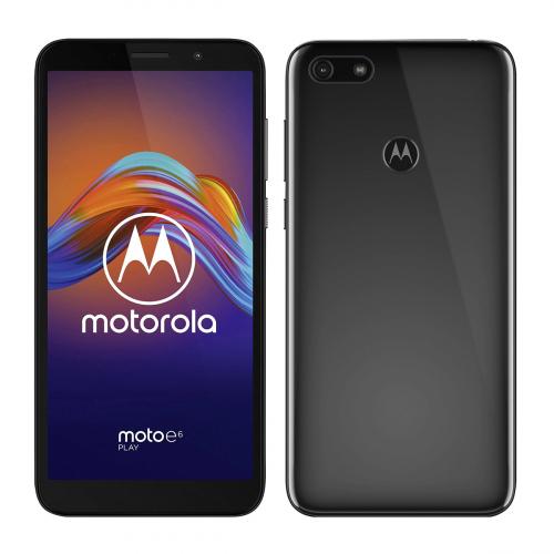Motorola XT2029-3 Moto E6 Play Dual-SIM 32GB 2GB RAM (Fekete) Gyártói Garancia