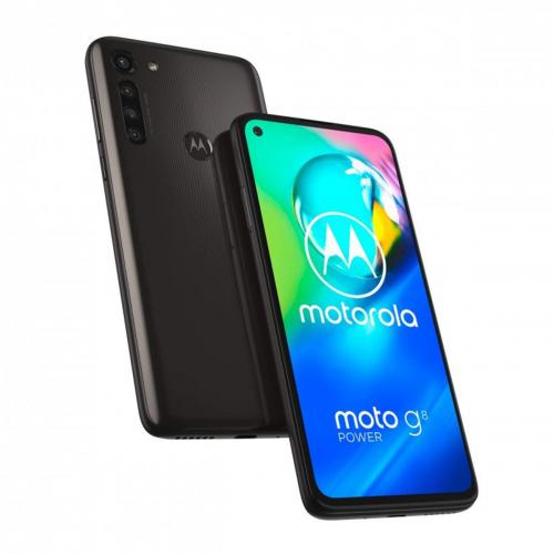 Motorola XT2041-3 Moto G8 Power Dual-SIM 64GB 4GB RAM (Fekete)