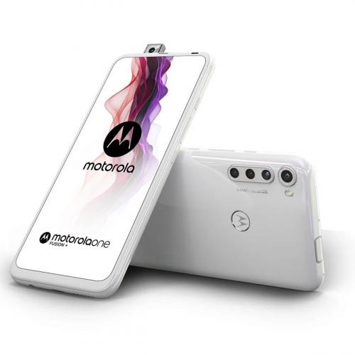 Motorola XT2067-1 Moto One Fusion+ Dual-SIM 128GB 6GB RAM (Fehér)