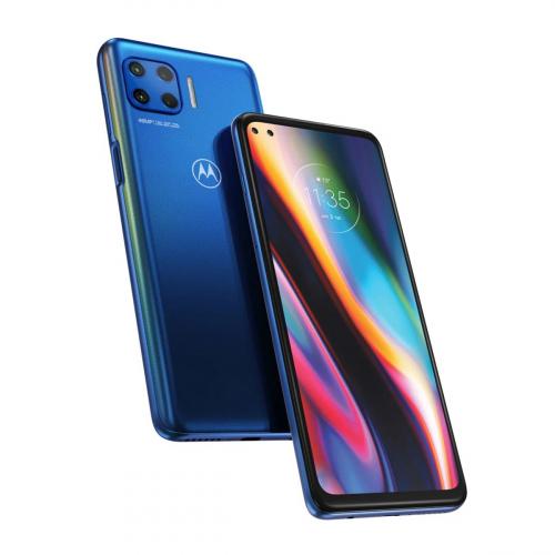 Motorola XT2075-3 Moto G Plus 5G Dual-SIM 64GB 4GB RAM (Kék)
