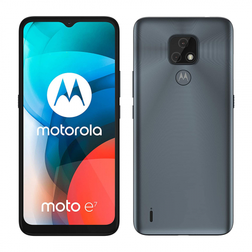 Motorola XT2095-2 Moto E7 Dual-SIM 32GB 2GB RAM (Szürke)