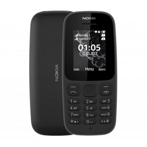 Nokia 105 (2019) (Fekete) Gyártói Garancia