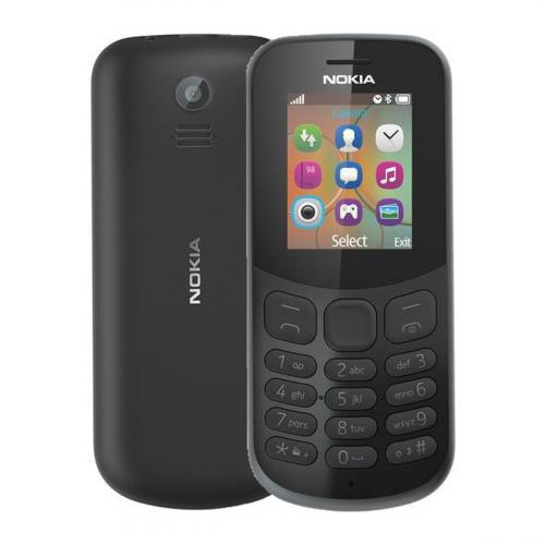 Nokia 130 (2017) Dual-SIM (Fekete) Gyártói Garancia