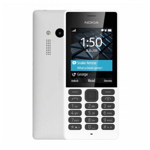 Nokia 150 Dual-SIM (Fehér) Gyártói Garancia