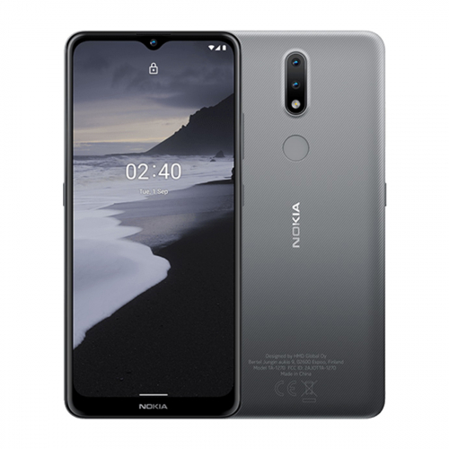 Nokia 2.4 Dual-SIM 32GB 2GB RAM (Szürke) Gyártói Garancia